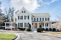 Custom Farmhouse Colonial at The Ridge of Greenfield Hill
