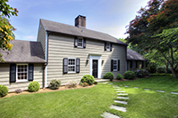 Prestigious Kettle Creek Road: Picture-Perfect Colonial/Cape with Pool